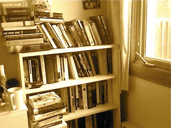 Bookshelf top