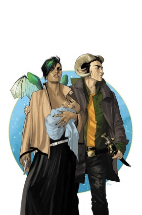 Saga Issue one cover fiona staples