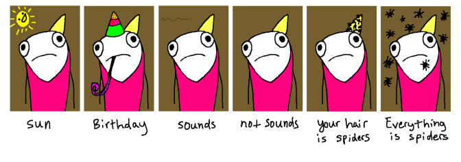 Hyperbole and a half, Allie Brosh.
